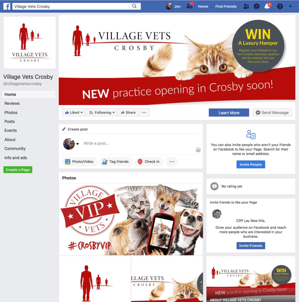 Village Vets Facebook Page