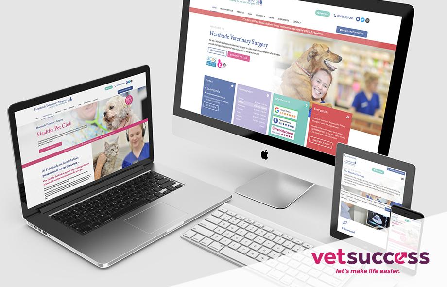 Vets Website Design | VetSuccess |